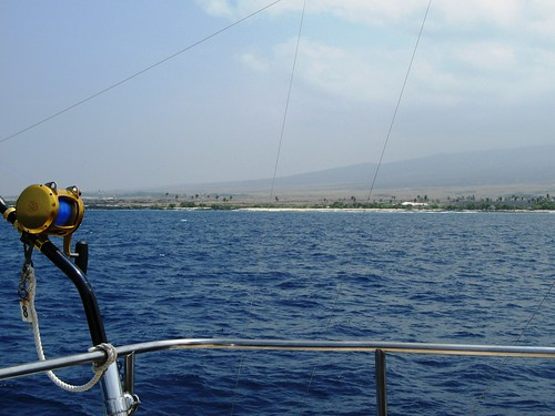 Fishing along the Kona Coast