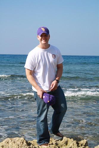 Chris at the Seawall