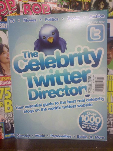 Celebrity Twitter Directory