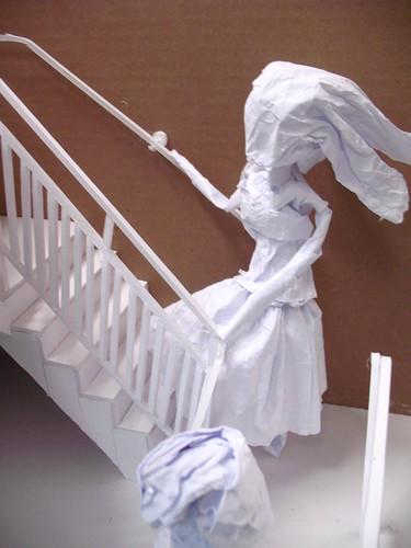 paper model - girl