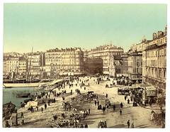 [Waterfront scene with pedestrians, unidentified location] (LOC)