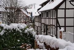 verschneites Wunstorf
