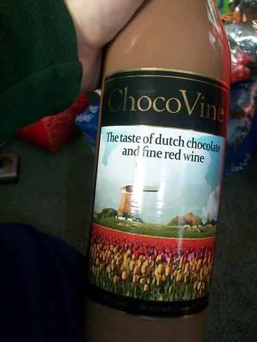 chocolate red wine