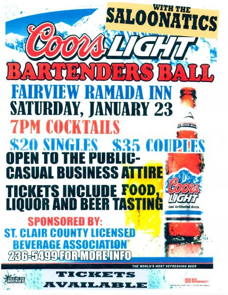 Bartenders Ball 1-23-10