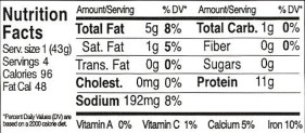 Original Tofu Cutlets Nutrition Facts