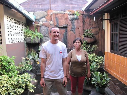 Jerome und seine Gastmutter
