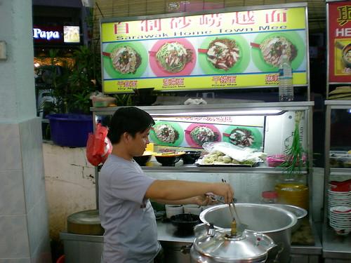 Damansara Uptown Sarawak hometown mee stall