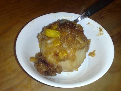 Baked apple