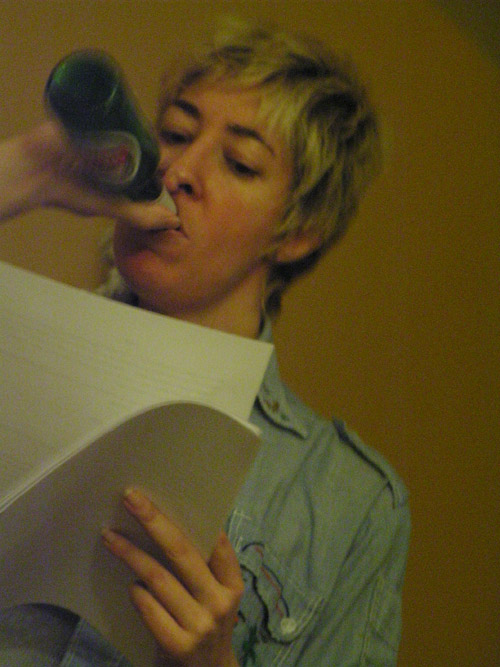 Angela with beer1
