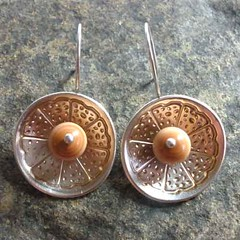 Spinner Disk Earrings #6