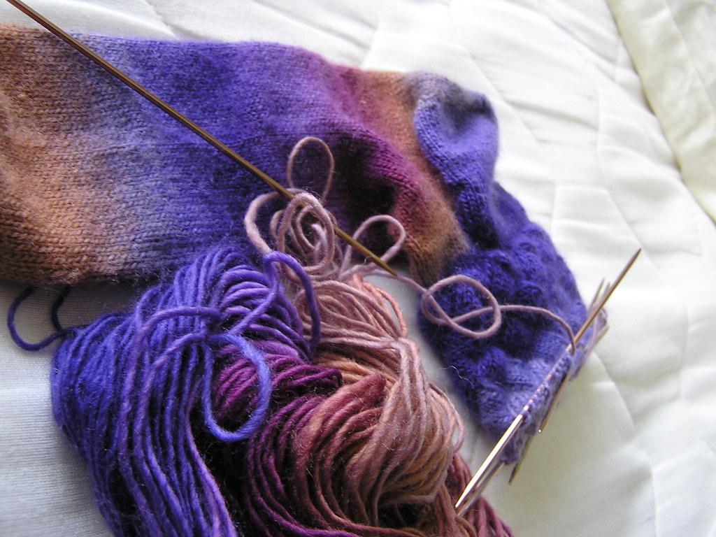 Mochi Entrelac Socks 06