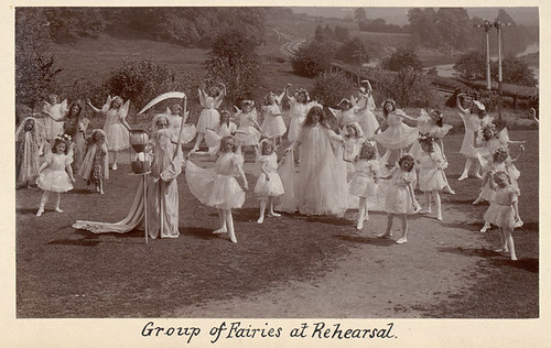 Group of Fairies at Rehearsal