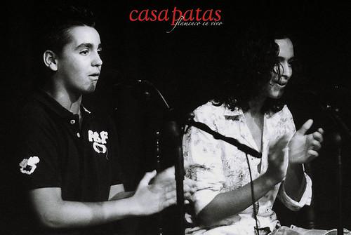El Bola y Antonio Cortes en Casa Patas. Foto: Martín Guerrero