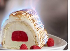 That's baked alaska for you non Frenchies