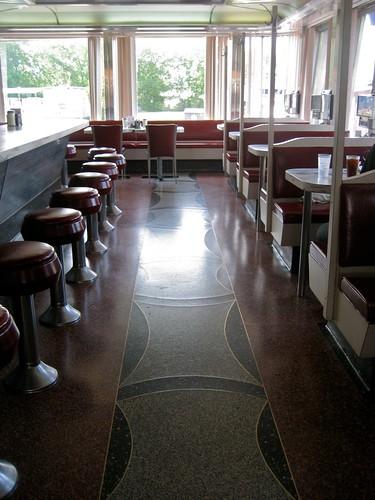 Elgin Diner Terazzo Floor