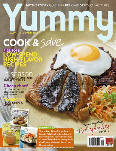 Yummy Magazine May 2010 issue