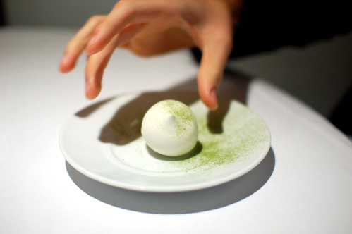 1st Course: Nitro-Green Team and Lime Mousse