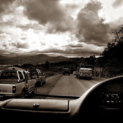 ranau drive-by {sepia}