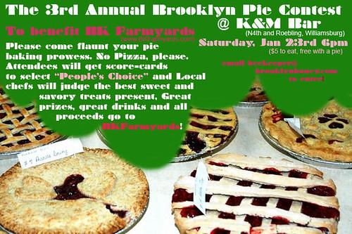 Brooklyn Pie Contest