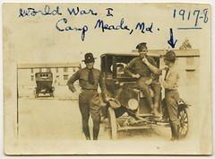World War I, Camp Meade, MD, 1917-1918