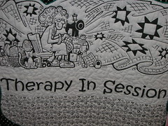 Therapy in session through quilting