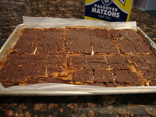 Passover:  Caramel Chocolate Crunch
