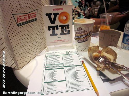 Voters Education At Krispy Kreme
