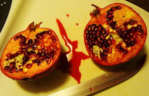 Halloween Pomegranate 2