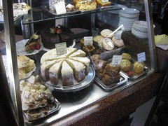 cake window at Diva