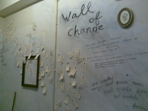 The Wall of Change