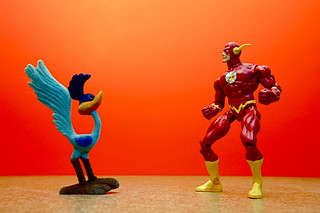 Road Runner vs. The Flash (48/365)