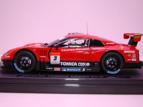 EBBRO HASEMI TOMICA EBBRO GT-R 2009 RD 1 (7)