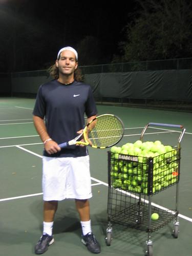 Jorge Nanco, Tennis Professional