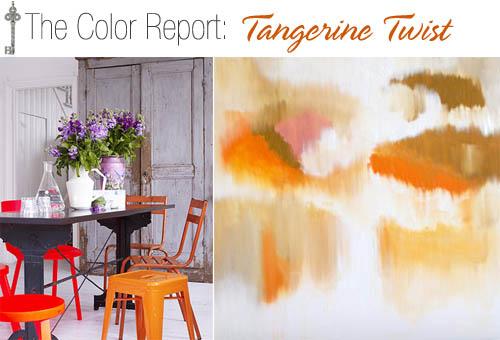 The Color Report- Tangerine Twist 1