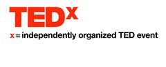 TEDx logo white
