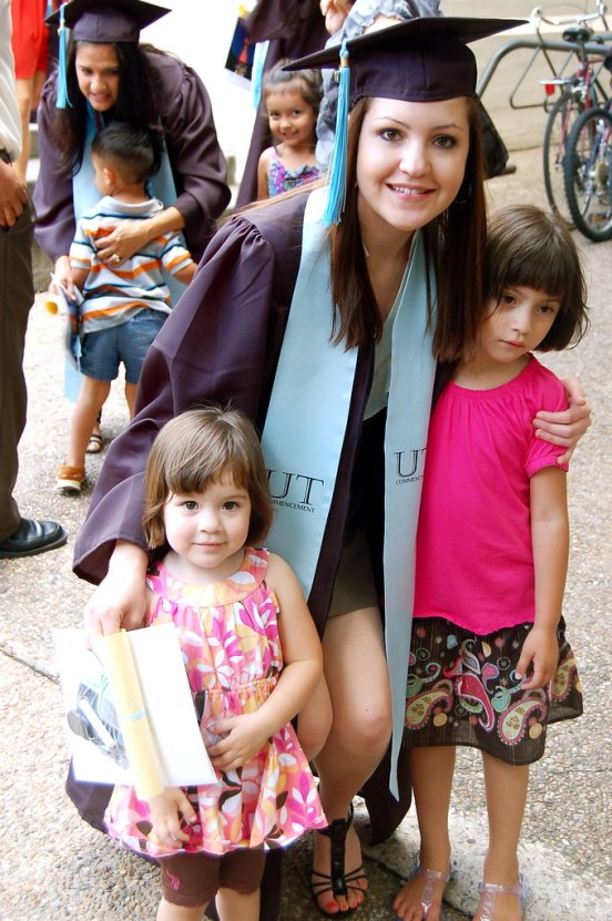 Monica's graduation!