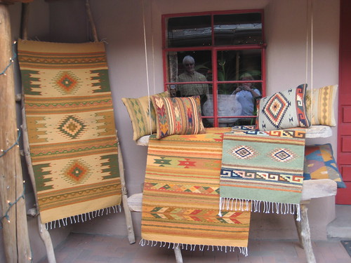 Hand woven items in Taos