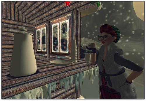 hot chocolate stand!