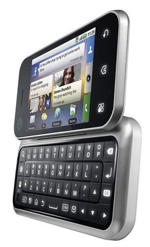 El Backflip de Motorola, abierto