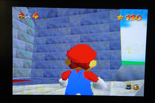 N64 RGB DAC rev1 - Super Mario 64 (RGB) by fce2, on Flickr
