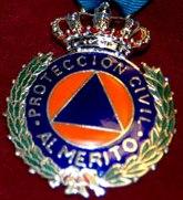 Medalla al mérito de la Protección Civil