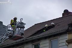 Dachstuhlbrand Michelsberg 21.02.10