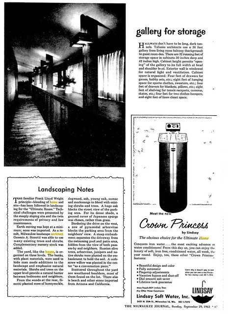 Milwaukee Journal - Ultimate House - 1963 (8 of 11)