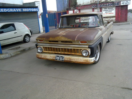 Patina finish Chevy pickup