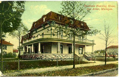 Prettyman Boarding House postcard