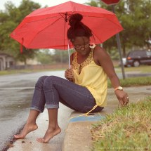 Barefoot African American Women
