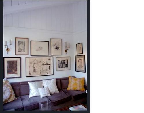 Altadena gallery wall