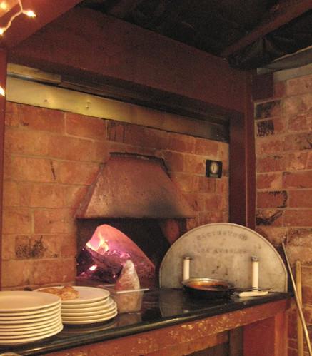 Trattoria Uliveto's Pizza Oven