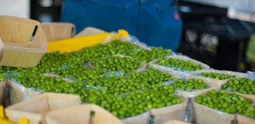 Shelled peas!