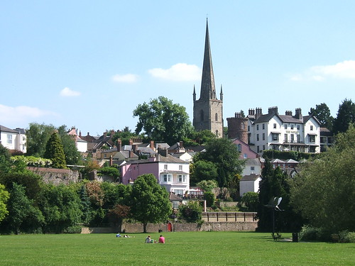 Ross on Wye, Herefordshire, by Cross Duck. Picture used under Creative Commons, click pic for link.